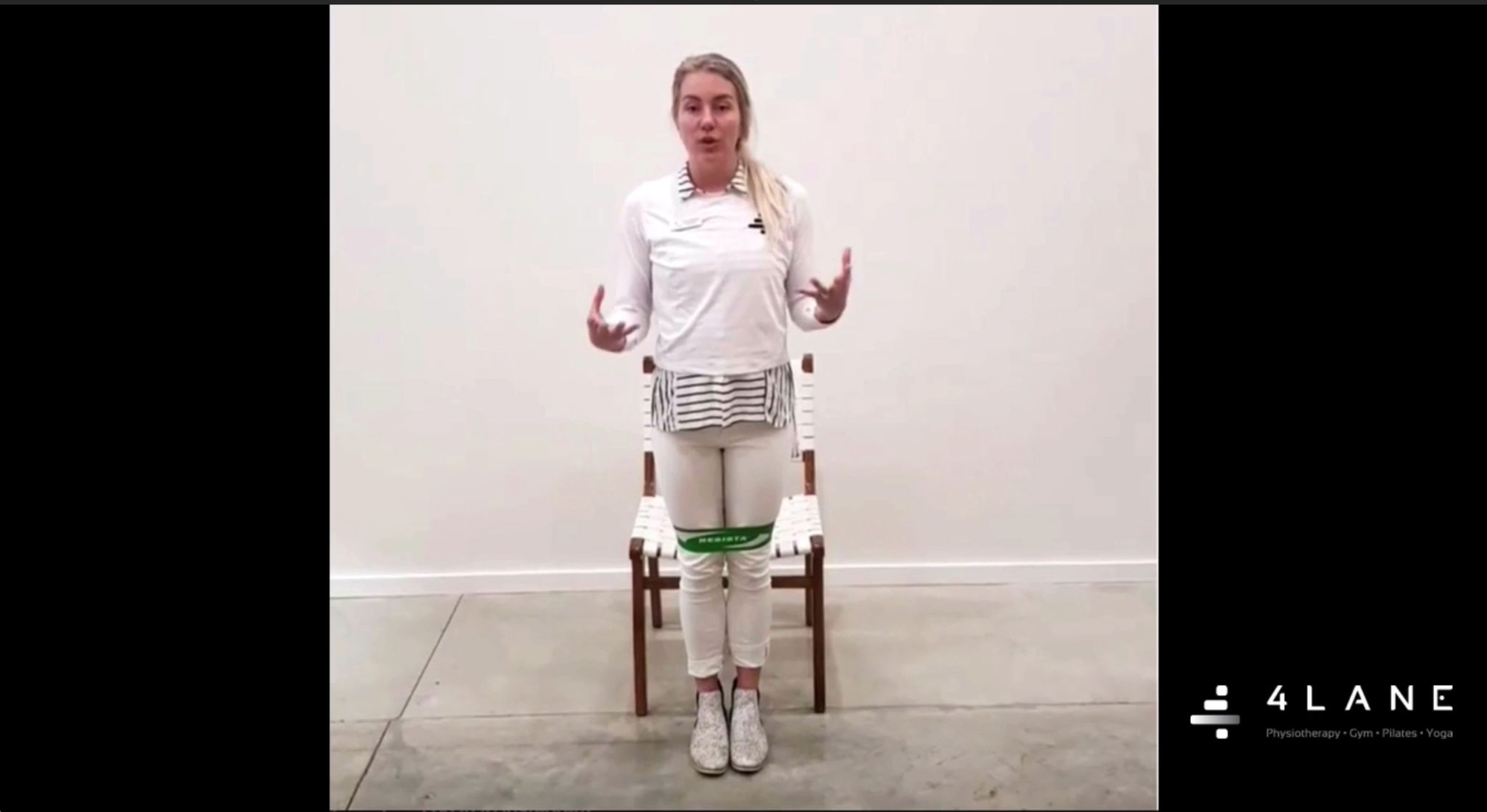 An exercise for Patellofemoral joint pain - knee pain